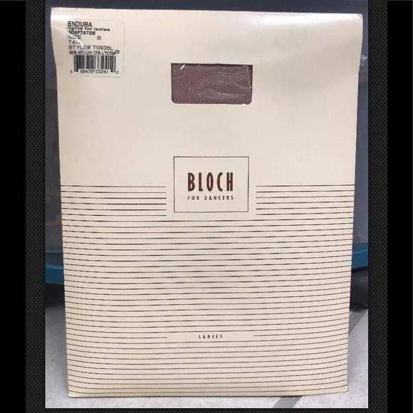 Bloch Tan Endura Adaptatoe Convertible Tights Nip Boutique